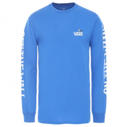 T-SHIRT VANS X ANTIHERO ON THE WIRE L/S - ROYAL BLUE