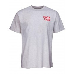 T-SHIRT SANTA CRUZ HAND WALL - ATHLETIC HEATHER