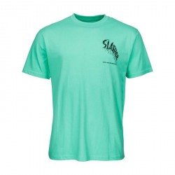 T-SHIRT SANTA CRUZ WAVE SLASHER - SPEARMINT