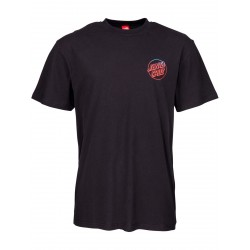 T-SHIRT SANTA CRUZ FADE HAND - BLACK