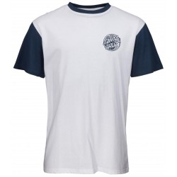 T-SHIRT SANTA CRUZ MERMAID DOT - INDIGO WHITE