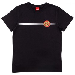 T-SHIRT SANTA CRUZ YOUTH OG CLASSIC DOT - BLACK
