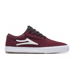 CHAUSSURES LAKAI GRIFFIN - BURGUNDY BLACK SUEDE