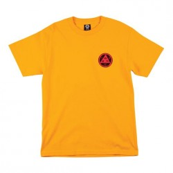 T-SHIRT WELCOME GORGON TEE - GOLD RED