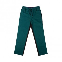 PANTALON WELCOME DARK WAVE SPLIT COLOR ELASTIC - BLACK DARK TEAL