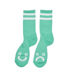 CHAUSSETTES POLAR HAPPY SAD - MINT