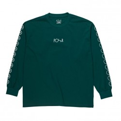 T-SHIRT POLAR RACING LS - DARK GREEN