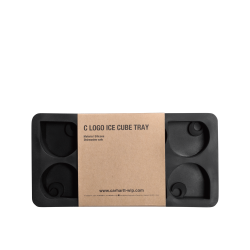 MOULE GLACON CARHARTT WIP C LOGO ICE CUBE TRAY SILICONE - BLACK