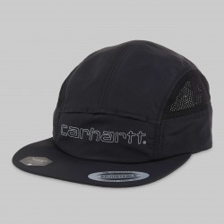 CASQUETTE CARHARTT WIP TERRACE CAP - NYLON BLACK