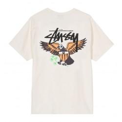T-SHIRT STUSSY EAGLE - VANILLA