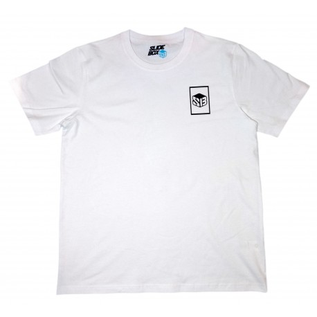 T-SHIRT SLIDEBOX X PORTALS MIRROR - WHITE