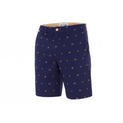 SHORT PICTURE ORGANIC PARARA - DARK BLUE