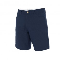 SHORT PICTURE ORGANIC ALDO CHINO - DARK BLUE