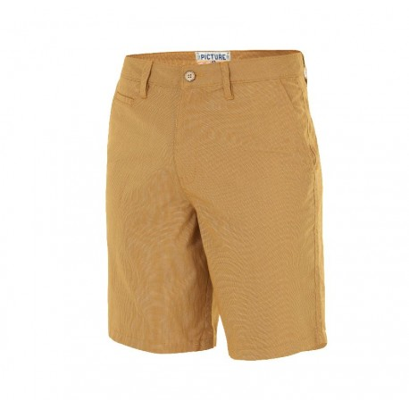 SHORT PICTURE ORGANIC MOA CHINO - CAMEL