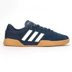 CHAUSSURES ADIDAS CITY CUP - NAVY WHITE GUM