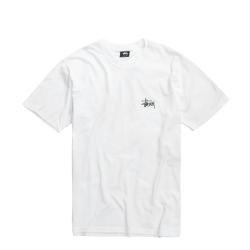 T-SHIRT STÜSSY BASIC - WHITE