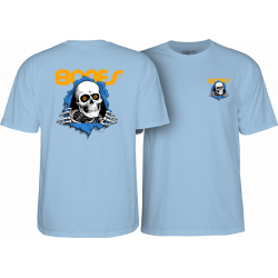 T-SHIRT POWELL PERALTA RIPPER POWDER BLUE