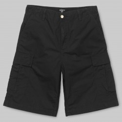 SHORT CARHARTT REGULAR CARGO - BLACK RINSED
