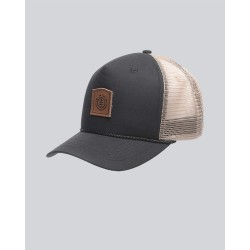 CASQUETTE ELEMENT WOLFEBORO TRUCKER - FLINT BLACK