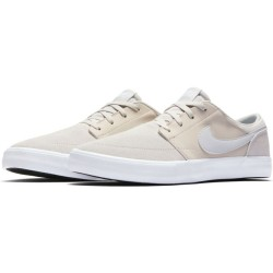 CHAUSSURES NIKE SB PORTMORE 2 SOLAR - LIGHT BINE PLATINUM WHITE