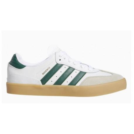 Busenitz Vulc RX Shoes in Footwear White Collegiate Green