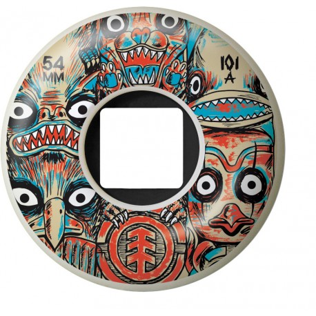 ROUE ELEMENT FOS TOTEM 54MM - RED
