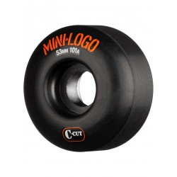 ROUES MINI LOGO WHEELS A-CUT 53MM 101A - BLACK
