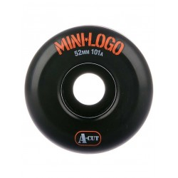 ROUES MINI LOGO WHEELS A-CUT 52MM 101A - BLACK
