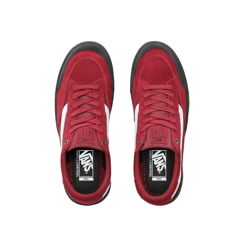 Vans Pro Berle Chaussures Red Rumba HWDE2I9
