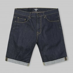 SHORT CARHARTT WIP SWELL - BLUE ONE WASH