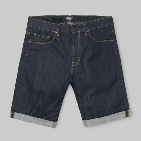 SHORT CARHARTT WIP SWELL - BLUE ONE WASH