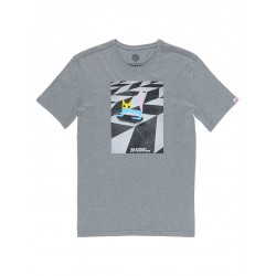 T-SHIRT ELEMENT EL GATO - GREY HEATHER