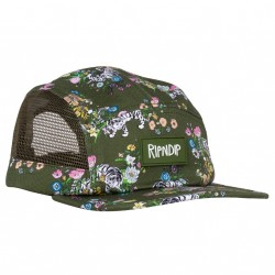 CASQUETTE RIP N DIP BLOOMING NERM TWILL CAMPER - OLIVE GREEN