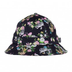 BOB RIP N DIP BLOOMING NERM TWILL BUCKET - BLACK