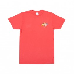 T-SHIRT RIP N DIP BLOOMING NERM - WATERMELON MINERAL WASH