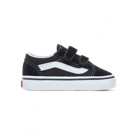 Wexqrdobec Black Vans White Chaussures V Old Enfant Skool FclKJ3T1