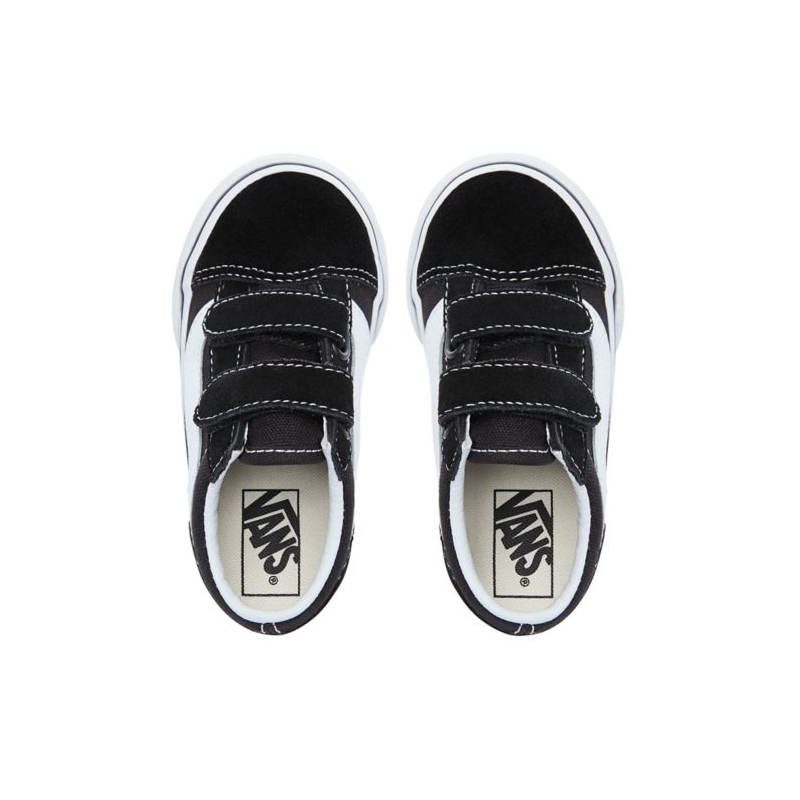 Black Chaussures V Enfant Vans Old Skool White OkXiuZTP