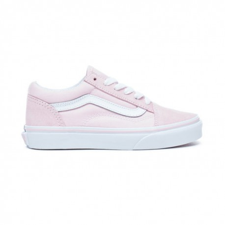 Skool Junior Chaussures Chalk Vans Old Pink odxBWreC