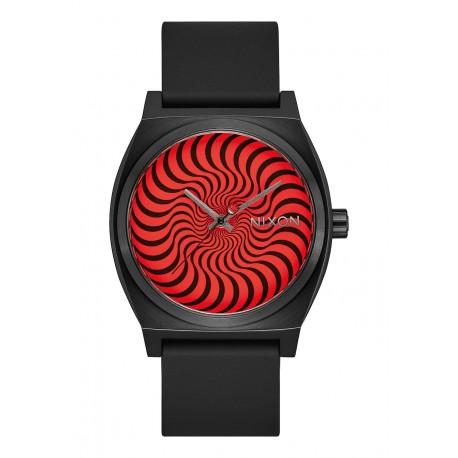 MONTRE NIXON X SPITFIRE TIME TELLER - BLACK SWIRL