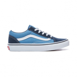 CHAUSSURES VANS OLD SKOOL JUNIOR - NAVY TRUE WHITE