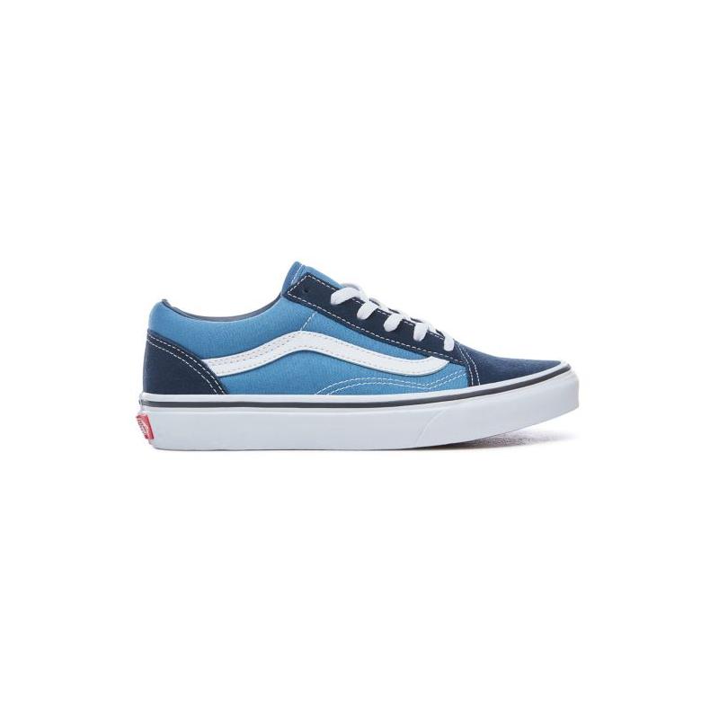 Chaussures Vans Old Skool Junior Navy True White