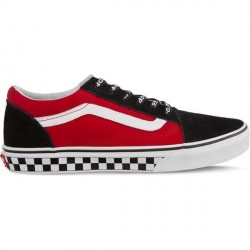 CHAUSSURES VANS OLD SKOOL JUNIOR LOGO POP - BLACK TRUE WHITE