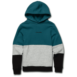 SWEAT VOLCOM SINGLE STONE DIV P/O - TEAL