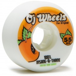 ROUES OJ WHEELS JUICEBOX INSANEATHANE 101A - 55MM