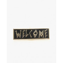 PINS WELCOME SCRAWL - 1.25