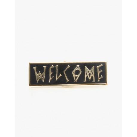 PINS WELCOME SCRAWL - 1.25