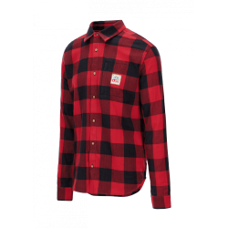 CHEMISE PICTURE ORGANIC KIDS FLIP - RED / BLACK