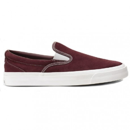 CHAUSSURES CONVERSE CONS ONE STAR SLIP - DARK BURGUNDY WHITE