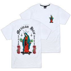 T-SHIRT TEALER MEXICAN HAZE - WHITE