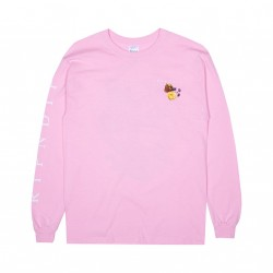 T-SHIRT RIPNDIP HEAVINLY BODIES LS - PINK